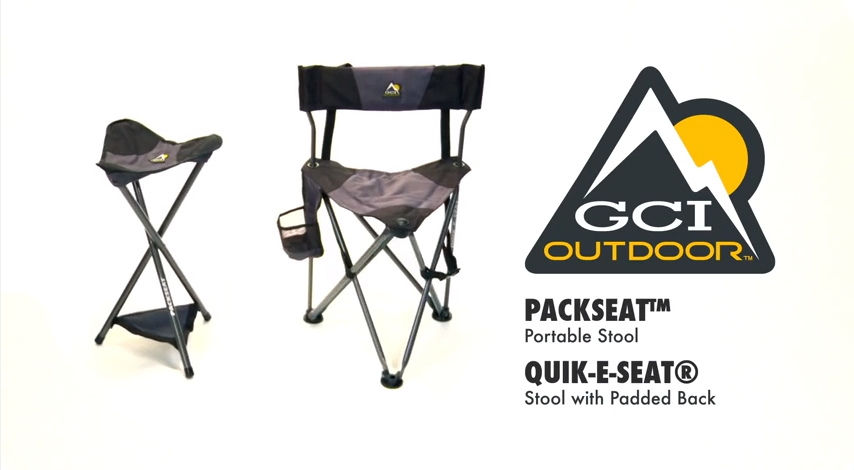 Phenomenal How To Use The Gci Outdoor Packseat And Quik E Seat Gci Machost Co Dining Chair Design Ideas Machostcouk