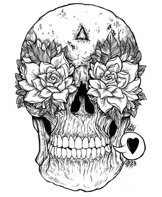 Pin Em Skull