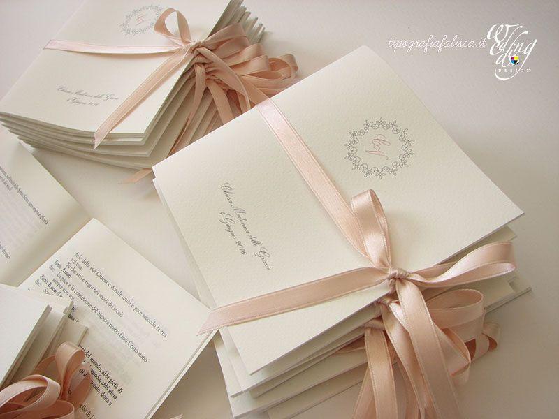Libretto Messa Cartoleria Per Matrimoni La Data Del Matrimonio Ventagli Matrimonio Fai Da Te