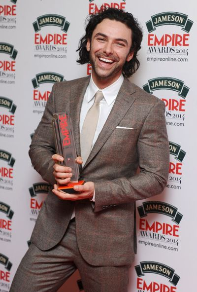 aidan turner best male newcomer jameson empire awards | Jameson Empire Awards 2014: As It Happened! | Movie News | Empire