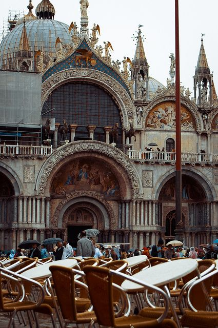Basilica Di San Marco Italy Places To Travel Venice Italy