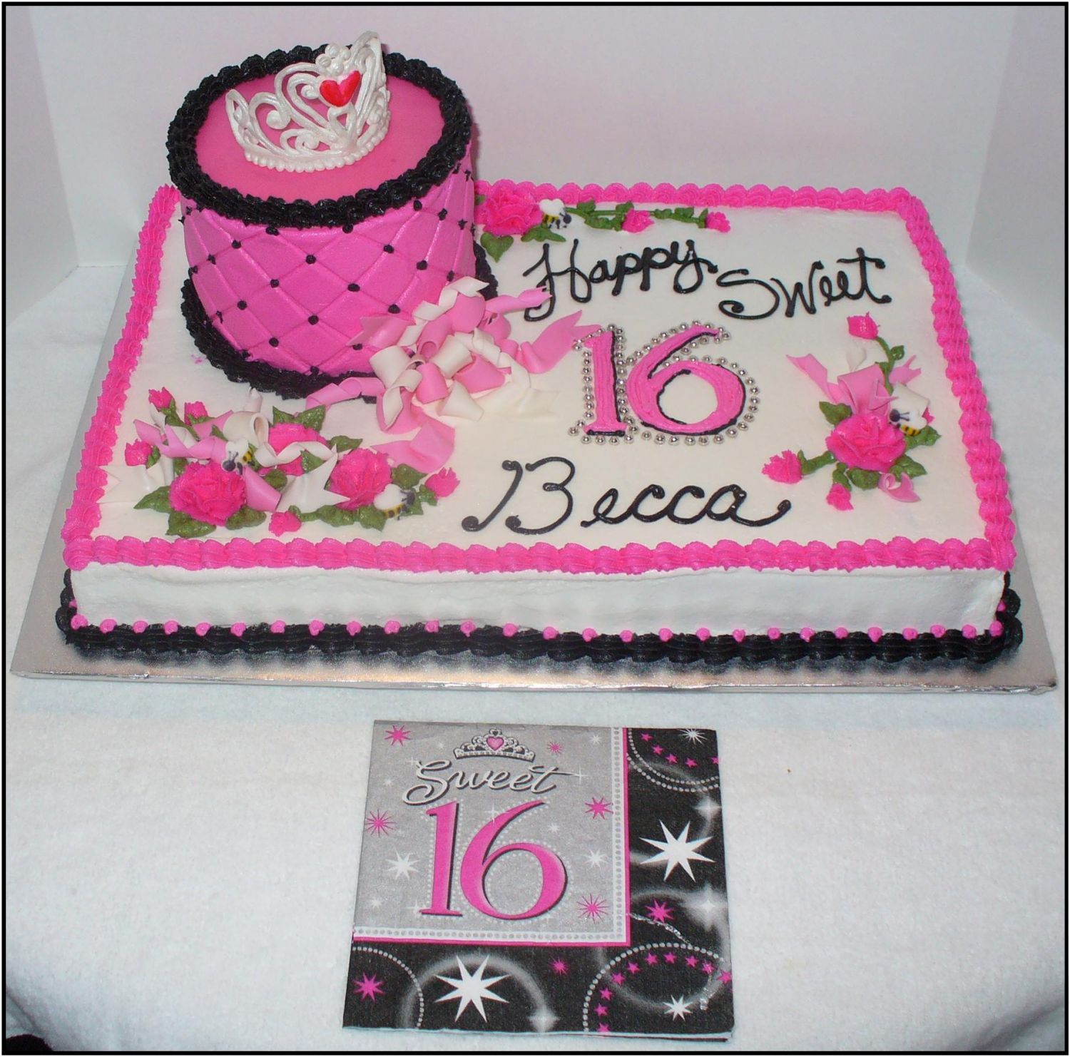 Prime Sweet 16 Cake With Images Sweet Sixteen Cakes Sweet 16 Funny Birthday Cards Online Kookostrdamsfinfo