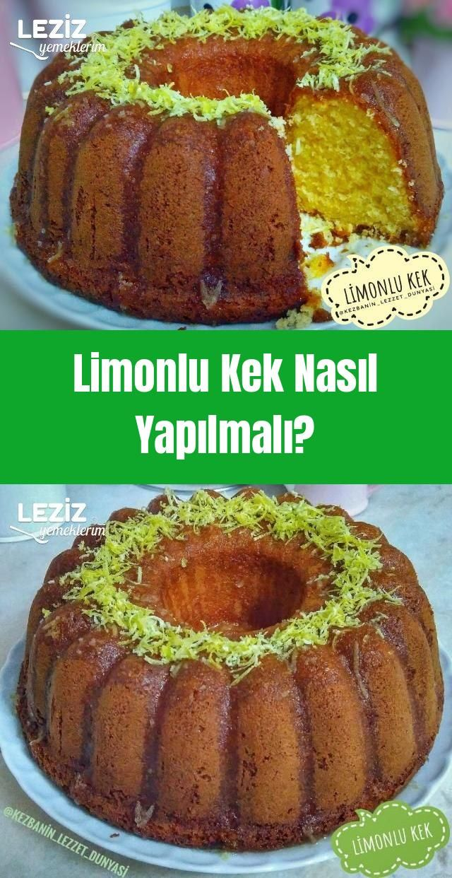 Photo of How to Make Lemon Cake? – My Delicious Food