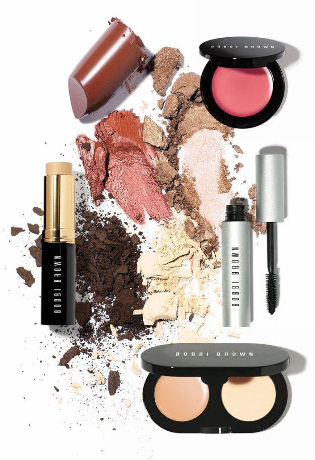 Productos de maquillaje de Bobbi Brown.