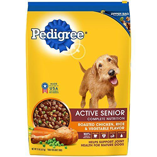 Pedigree Active Senior Roasted Chicken Rice Vegetable Flavor Dry