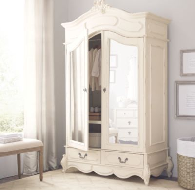 Ordinaire RH Baby U0026 Childu0027s Marielle Armoire With Mirror Doors:Designed To Mix And  Match With Other Furnishings For An Eclectic Look, Our Armoire Highlights  The ...
