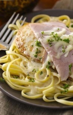 Easy Weeknight Chicken Cordon Bleu