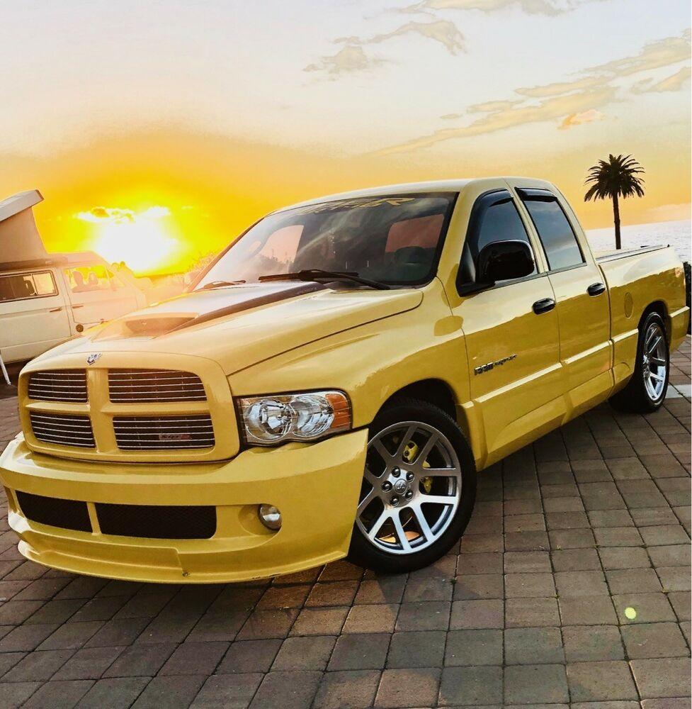 Ebay Advertisement 2005 Dodge Ram 1500 2005 Dodge Ram Srt 10 Yellow Fever Viper Dodge Ram 1500 Dodge Ram Ram 1500