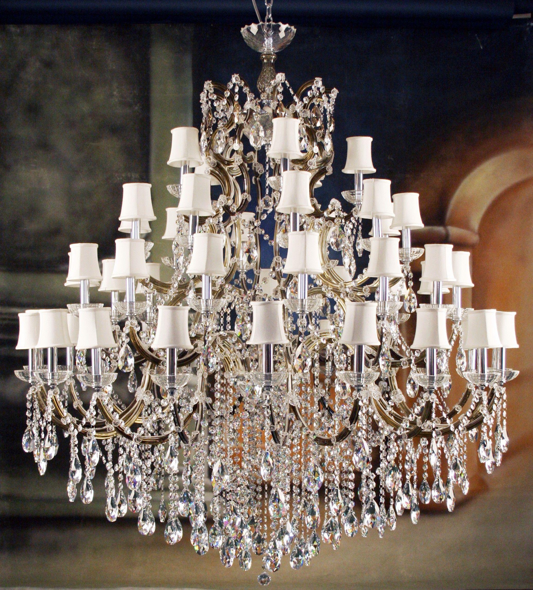Impressive Unique Crystal Chandeliers Designer Lighting Glass Chandelier With