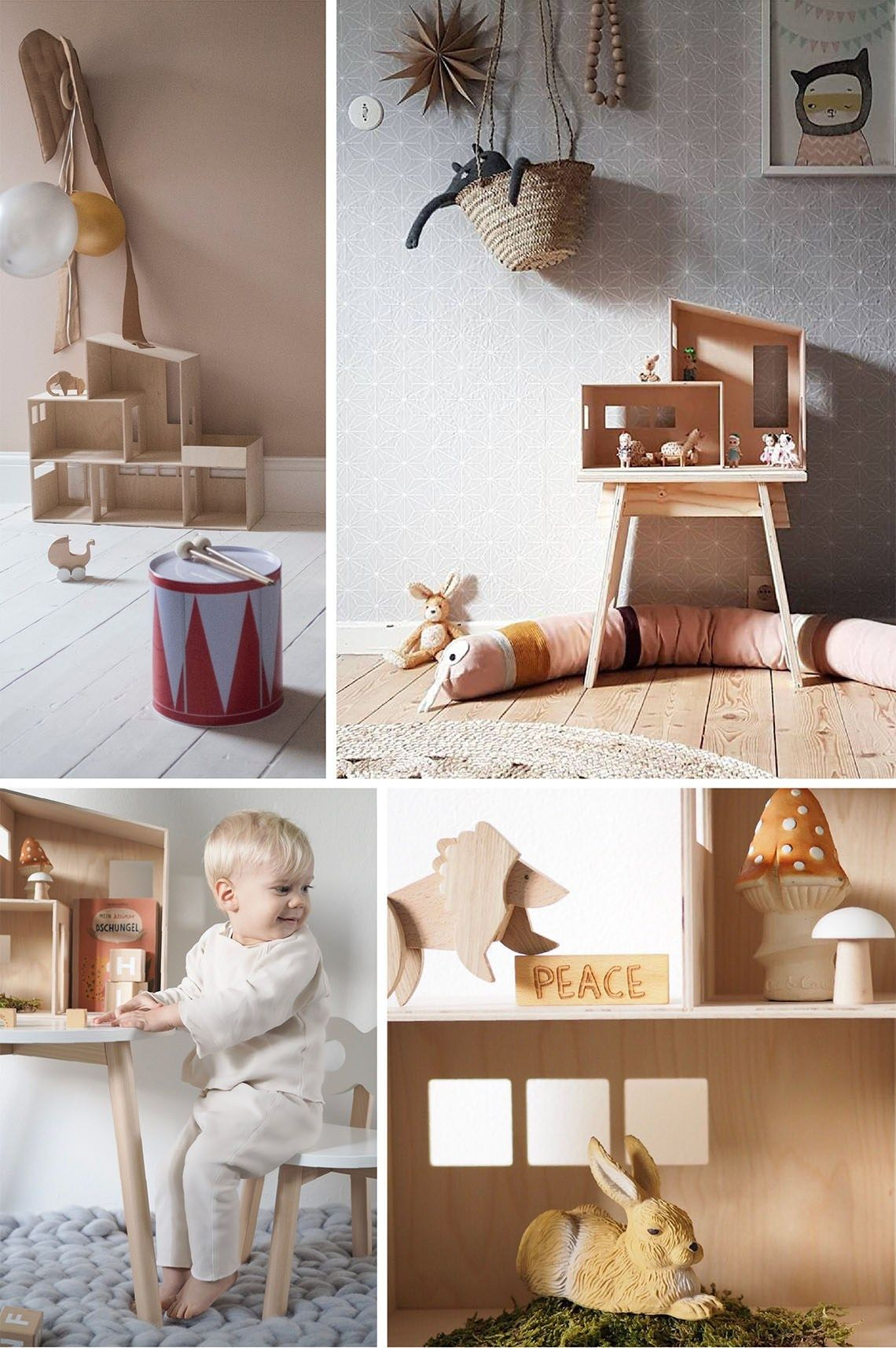 Kids Will Love This Design Dollhouse The Funkis Doll House By