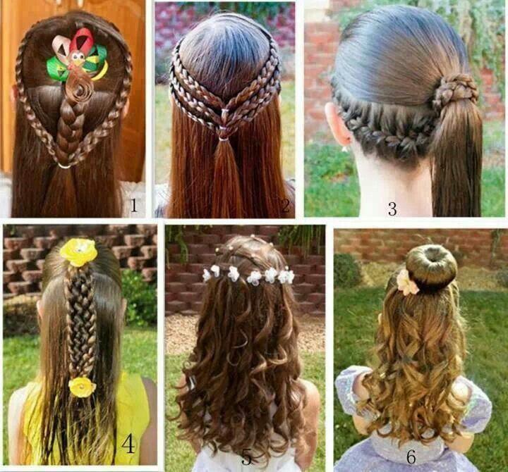 peinados para fiesta de nia buscar con google
