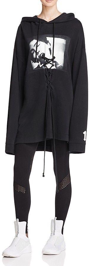 c74f3b007b83 FENTY PUMA x Rihanna Oversized Hoodie Sweatshirt Dress