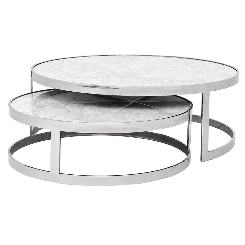 Eichholtz Fletcher Coffee Table Set Of 2 [ 1000 x 1000 Pixel ]