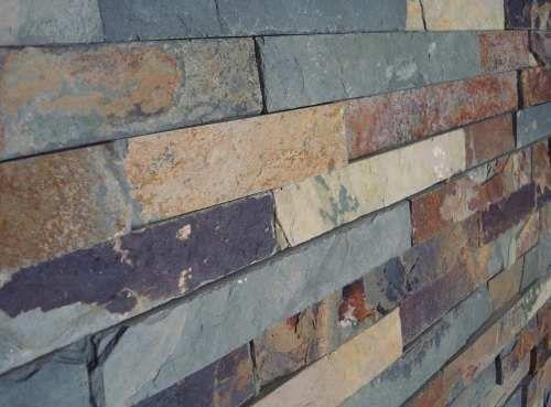 Revestimiento de piedra natural placas de piedra pared - Placas revestimiento paredes ...