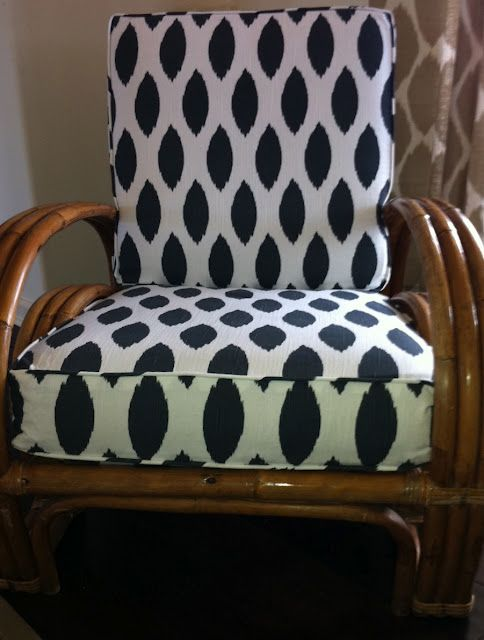 Superb Upholstered Rattan Chair Courtesy Of Lauradivenereinteriors