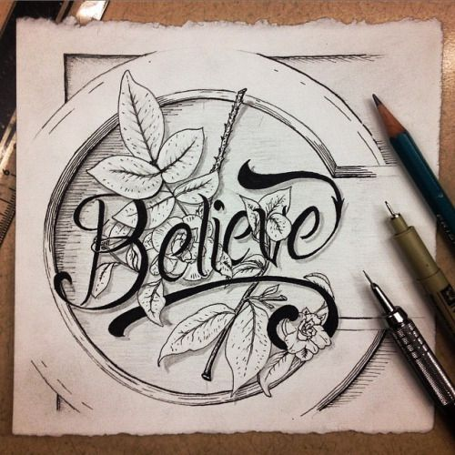 Illustration and hand lettering byBrandon Mikel Paul.