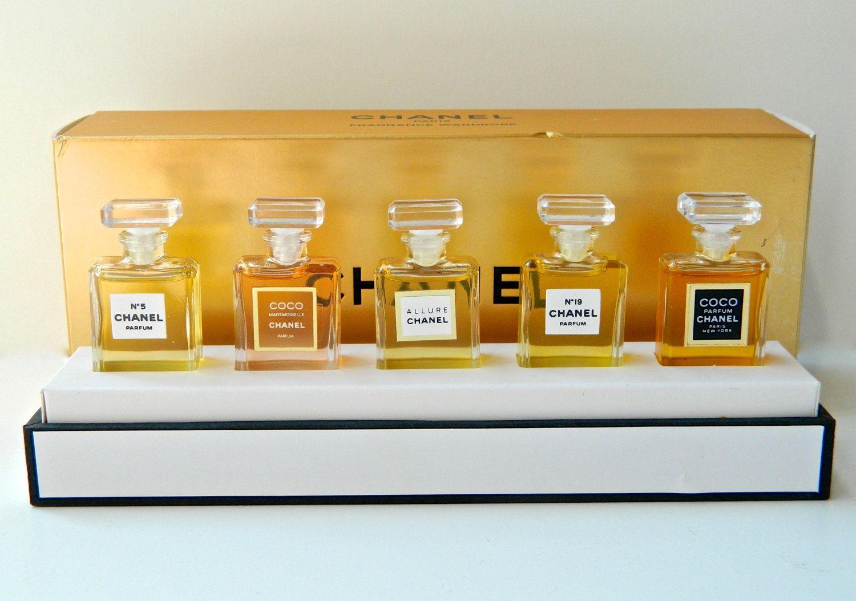 438f3c35 mini perfume collection | CHANEL Wardrobe Perfume Set 5 Mini Eau de ...