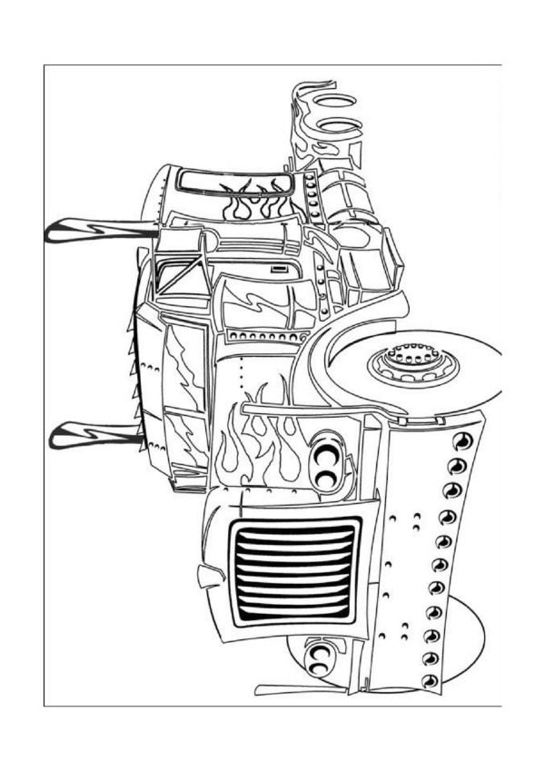 Imprimer coloriage dessins s rie transformers 21 photos pinterest - Dessin optimus prime ...