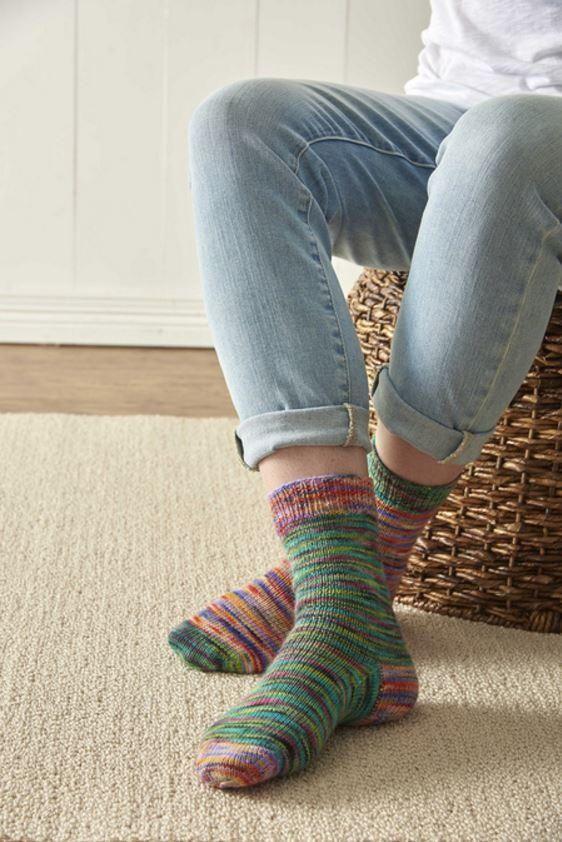 Rainbow Sherbet Sock Pattern Rainbow Sherbet Socks And Knitting