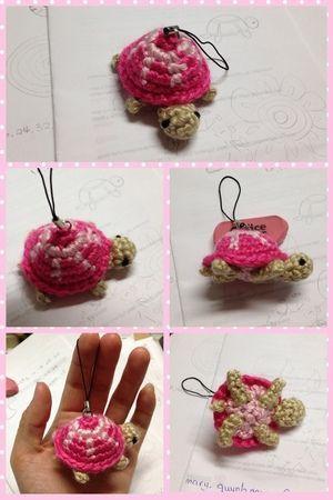 毛線教學 之 如何織出可愛小烏龜的吊飾來裝飾! @ DD\'s 毛線玩物約會 ...