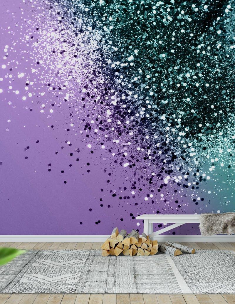 Best Mermaid Glitter Dream 2 Wall Mural Glitter Bedroom 400 x 300