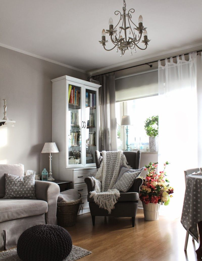 Ikea armchair STRANDMON. Really like this cozy set up ...