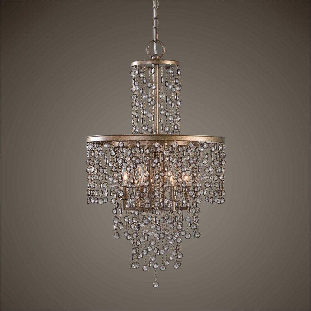 Uttermostu0027s Crystal Chandeliers Combine Premium Quality Materials