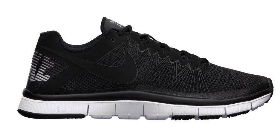 Zapatillas de running Nike Free Trainer 3.0 Hombre-Sneakers negro blanco  IPkyB 1
