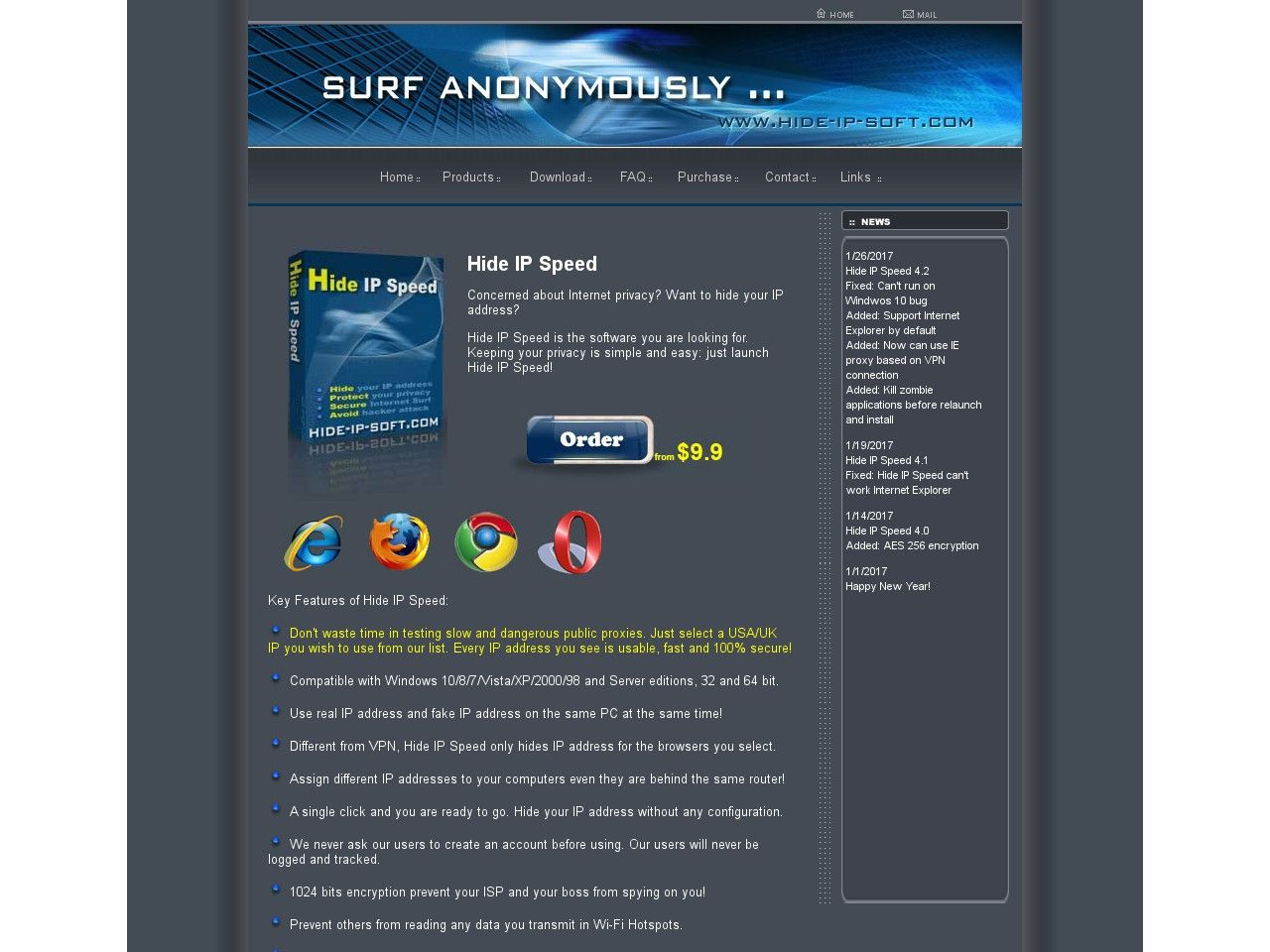 Free download proxy server list
