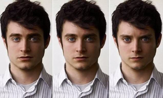 This Gif Of Dan Radcliffe Turning Into Elijah Wood Will Blow Your Mind In Hollywood Hollywood Daniel Radcliffe