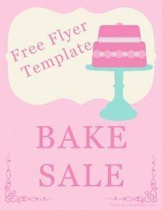 Bake Sale Template For Flyer Diy Craft Pinterest Bake Sale - Breast cancer brochure template free