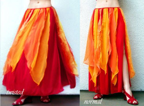 Limited Edition Cheap Online Extremely Cheap Price Cupro Skirt - FIRE MTN - SKIRT by VIDA VIDA eoEKWzzJQO