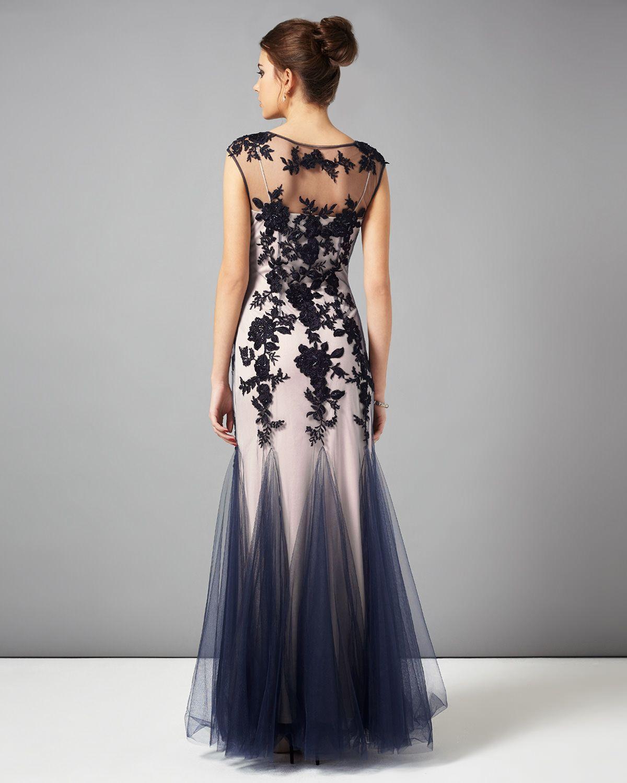 Rita tulle full length dress formals pinterest full length