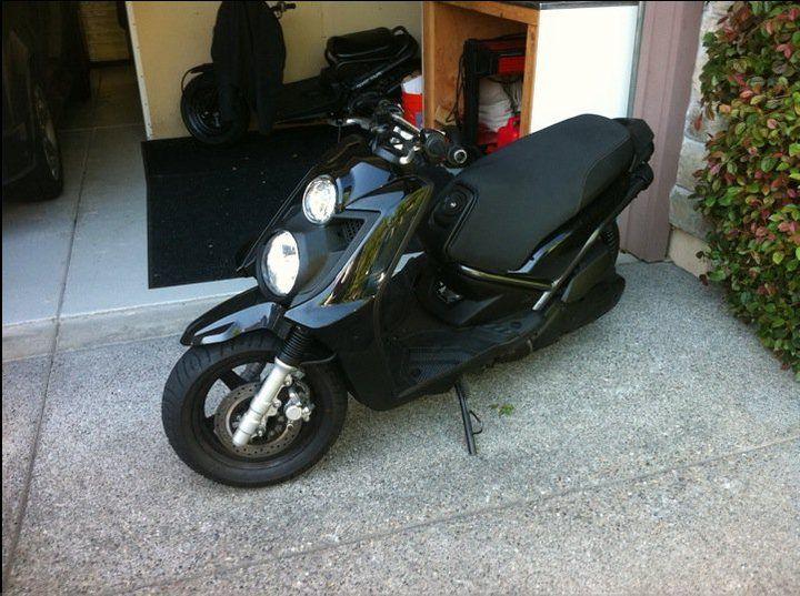 garage scooter yamaha