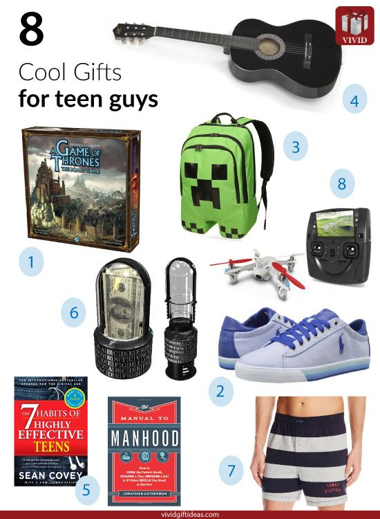 8 Cool Gifts For Teenage Guys