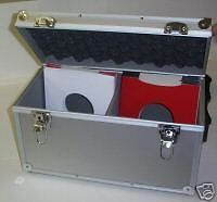Dj 7 Record Box Flight Case Holds 100 Silver 24hdel Record Boxes Case Box