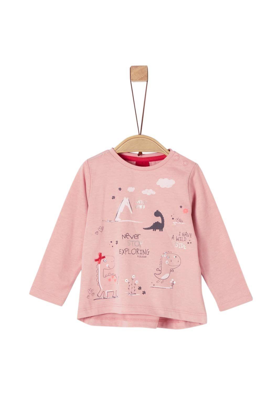 s.Oliver Baby-M/ädchen Langarmshirt