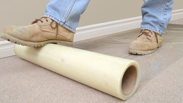Plastic Carpet Protector Plastic Floor Covering Carpet Shield