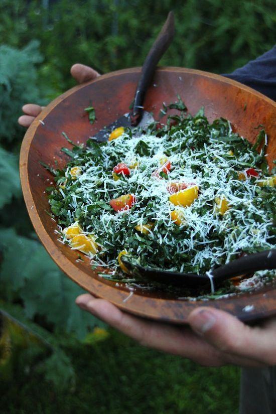 Cancer Fighting Kale Caesar Salad #recipe #food #healthy