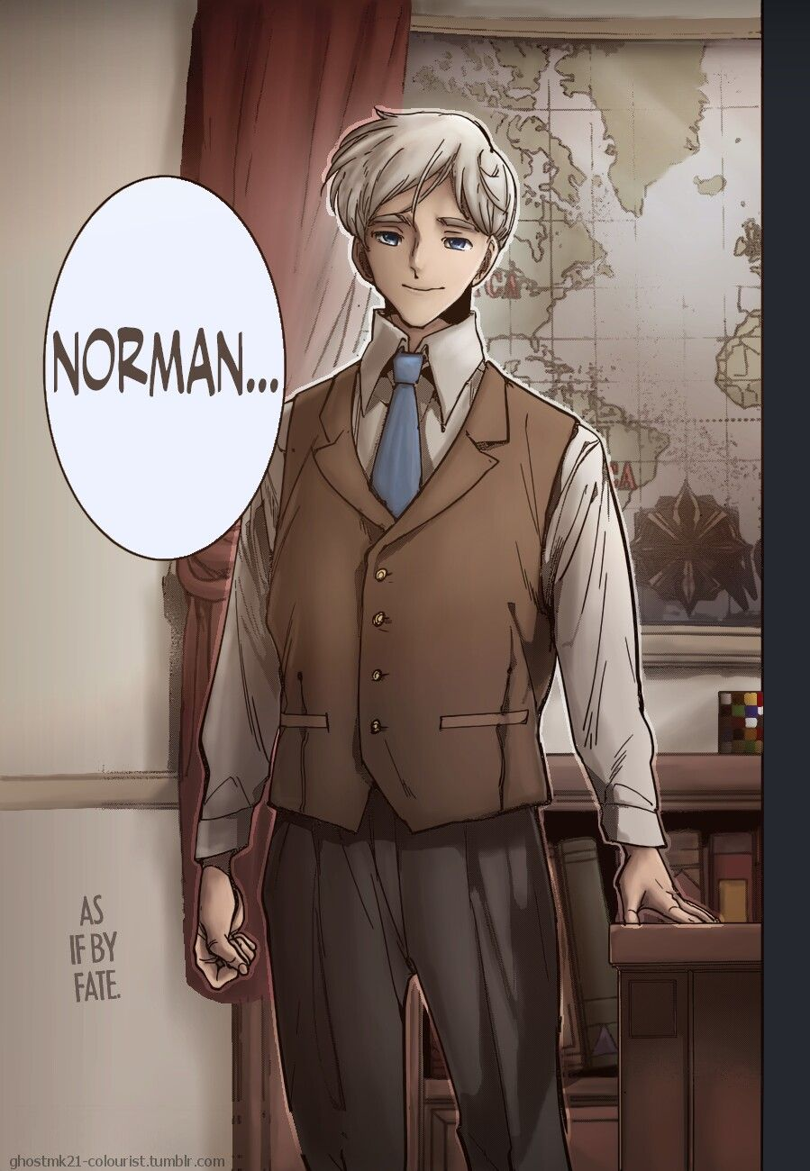 Post 2 year timeskip Norman? Neverland art, Anime