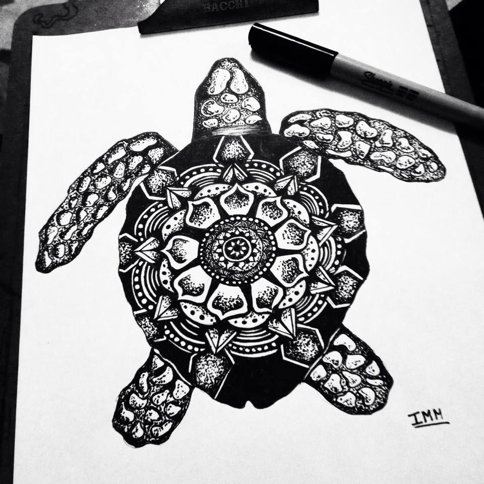 tartaruga zentangle zentangle turtle draw ink tattoo isabella marchese art pinterest. Black Bedroom Furniture Sets. Home Design Ideas