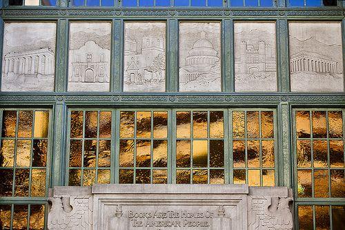 5314 - Downtown San Antonio, former main library facade