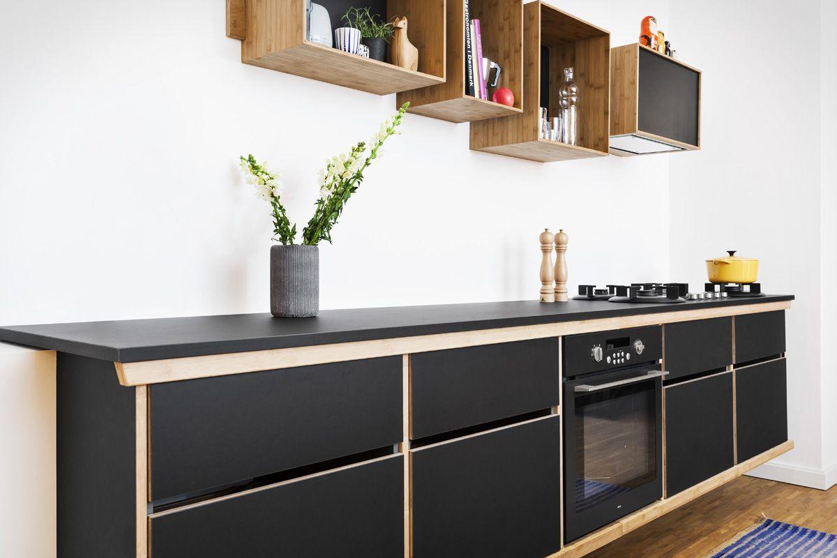 WeDoWood-bambus-korpus-og-linoleum-front-5 | Köök | Pinterest | Küche
