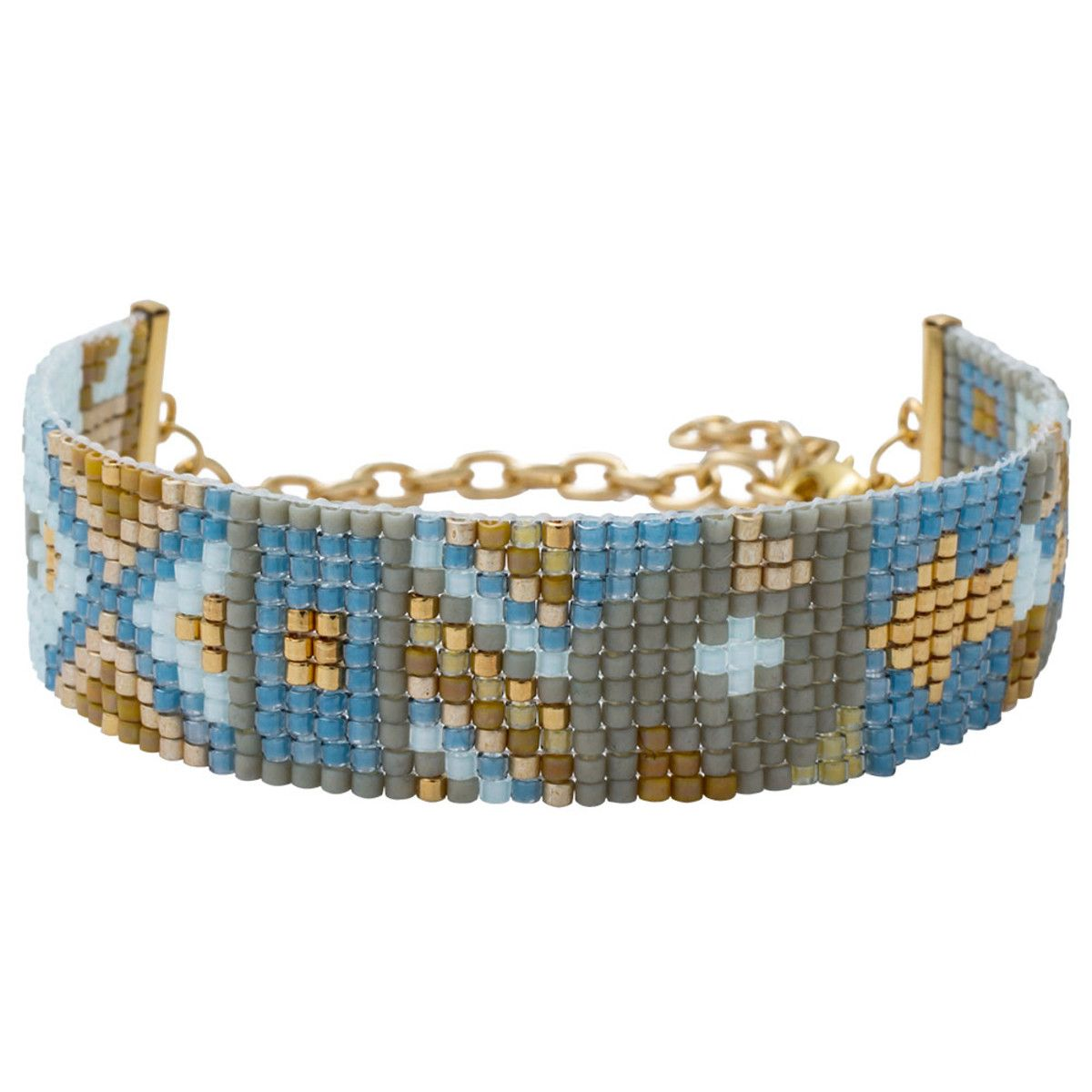 ProjectJewelry Inspiration Projet Design Gilded Bracelet Patchwork kiuXZwOlPT