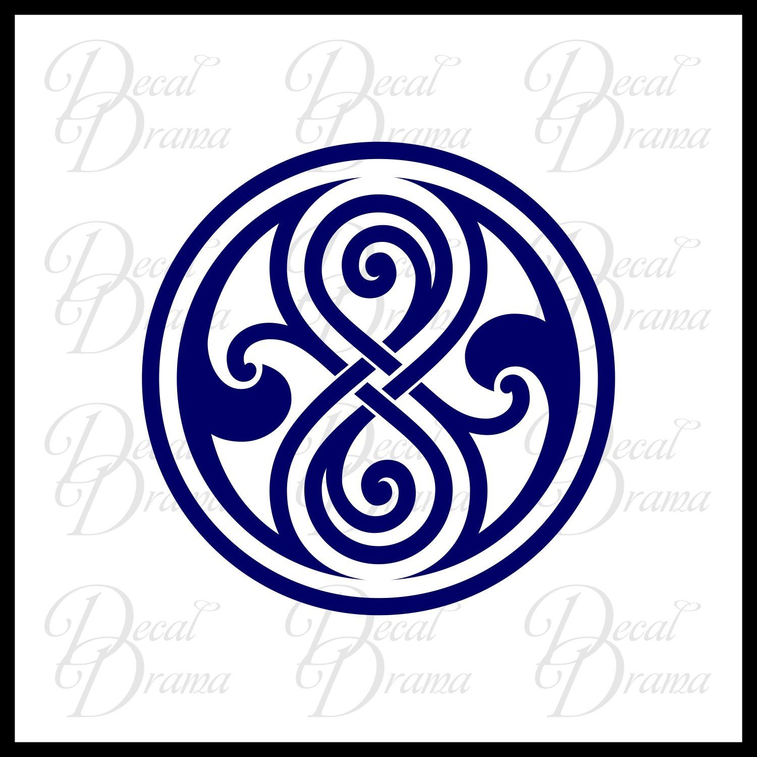 Gallifrey seal of rassilon large vinyl car decal this seal explore these ideas and more buycottarizona