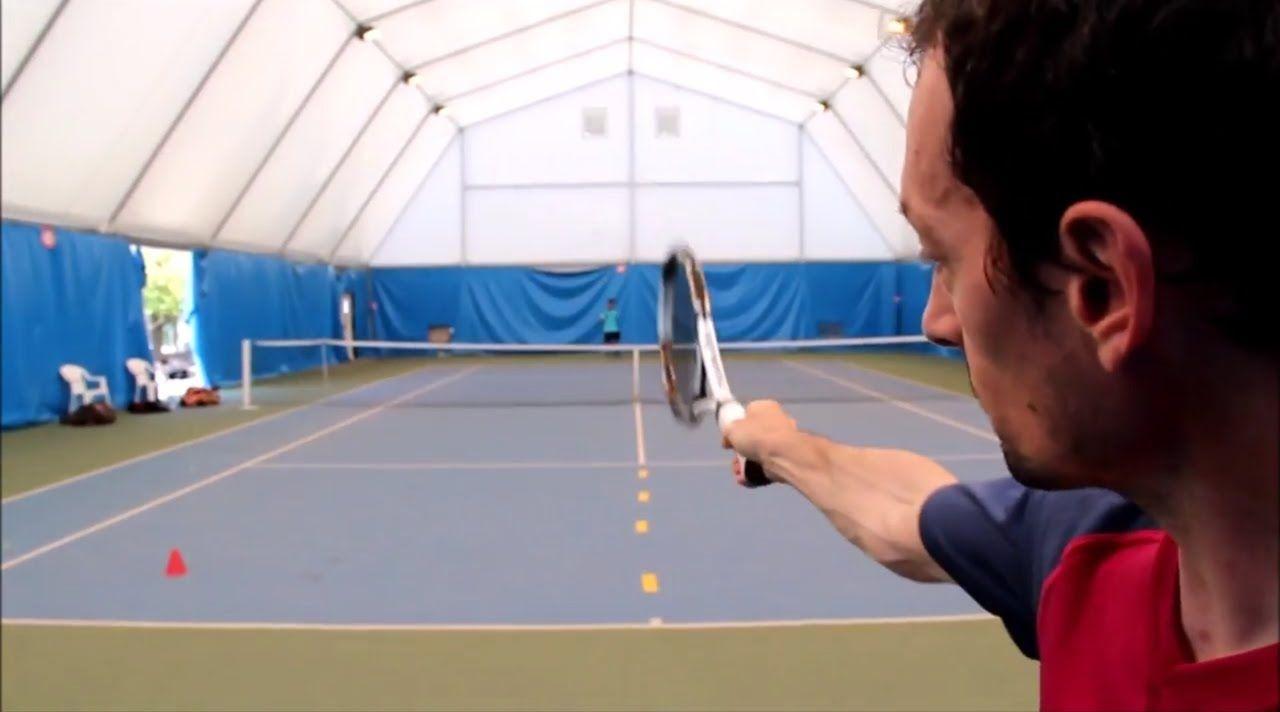 Un Exercice Sur Le Terrain Tres Complet Le Croise Decroise Exercice Sport Tennis