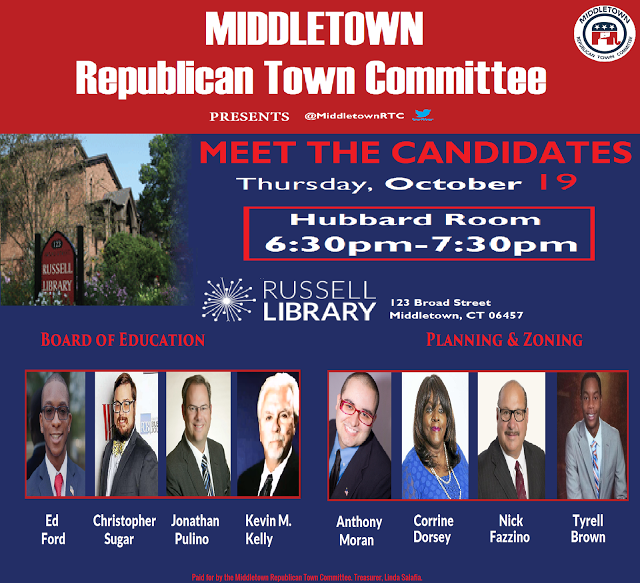 Meet The Candidates Thursday Oct 19th Street Library