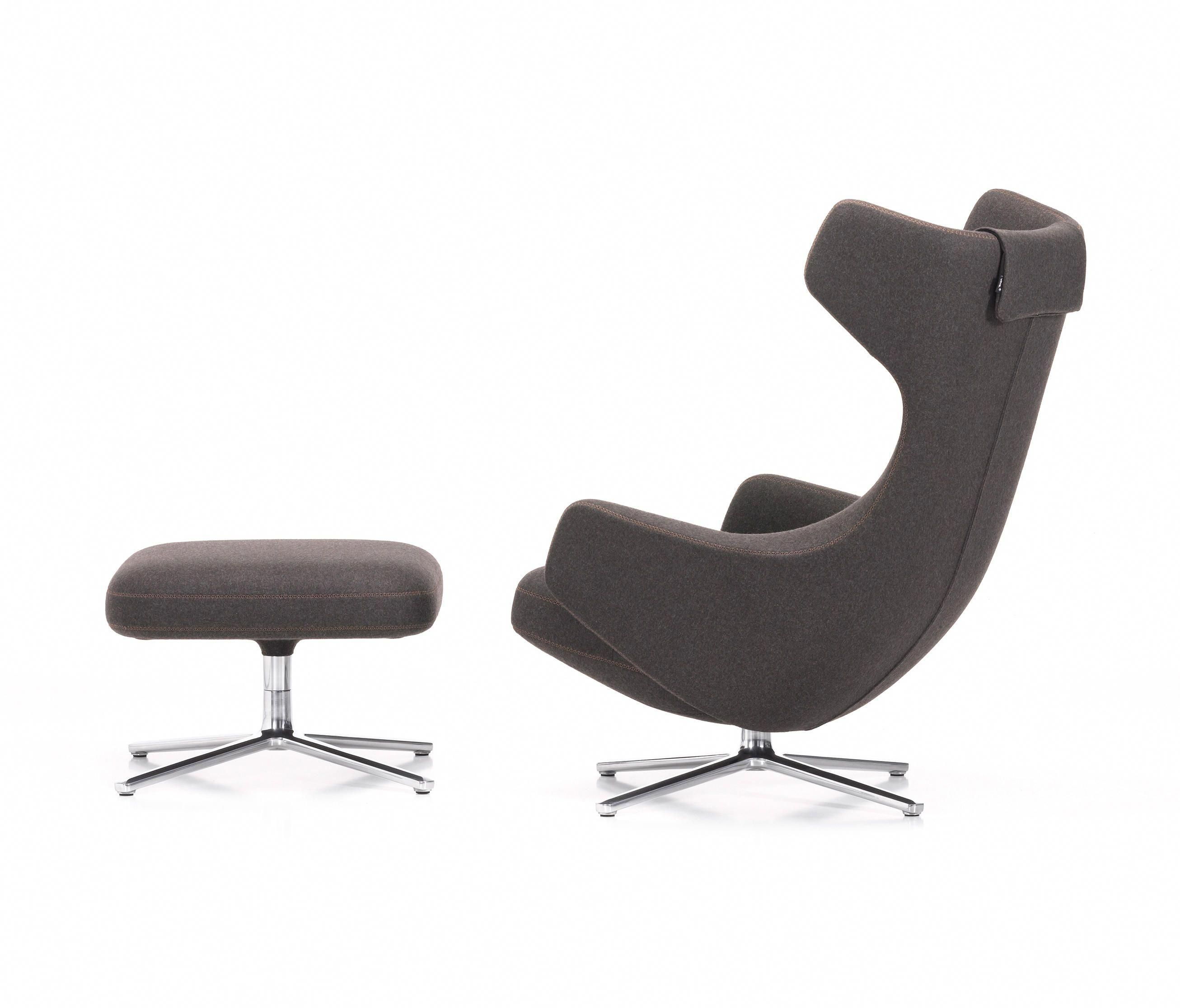 vitra lounge chair office chairs for back support grand repos ottoman by swivelreclinerchairs