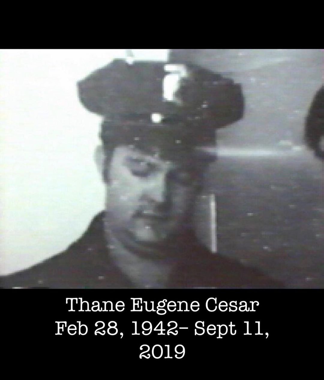 Thane Eugene Cesar Died Today In The Philippines Compelling