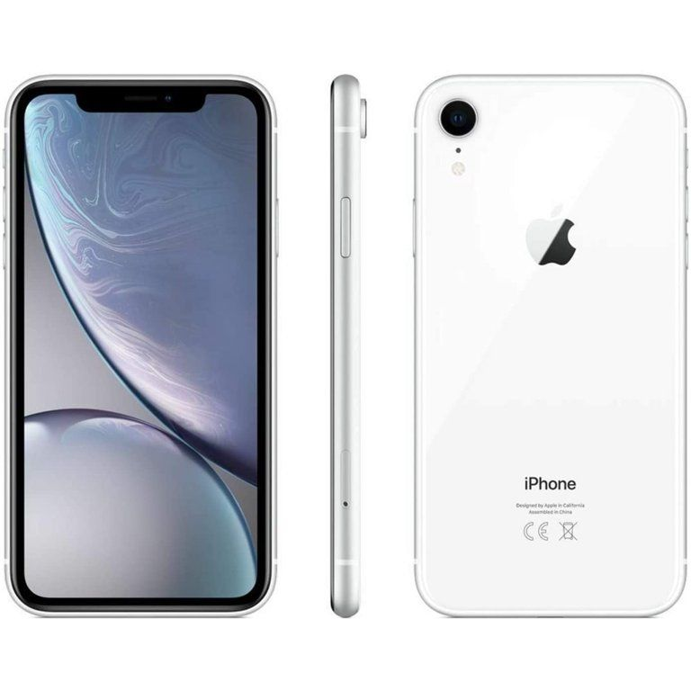 Apple Iphone Xr 64gb White Fully Unlocked A Grade Refurbished Smartphone Walmart Com In 2021 Prepaid Phones Iphone Samsung Phone